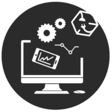 Piattaforma software degli oggetti nella nuvola e applicazioni web e mobile.